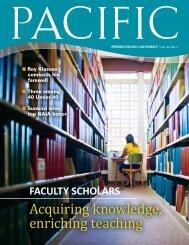 Acquiring knowledge, enriching teaching - FPU News - Fresno ...