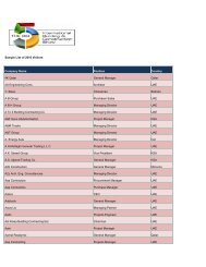 Sample Past Participants List Company Name     - Cityscape Riyadh