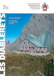 Juin 2009 - Club Alpin Suisse - Section des Diablerets