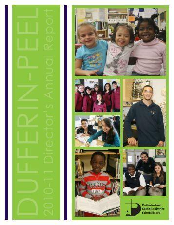 2010-11 Director's Annual Report - Dufferin-Peel