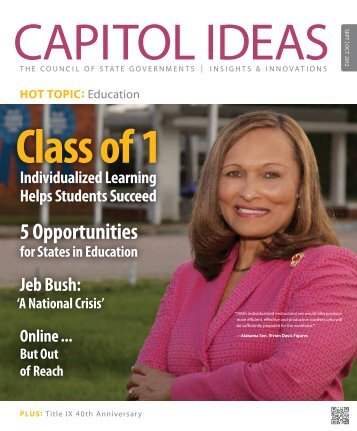Capitol Ideas - Council of State Governments