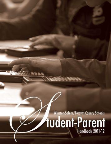 2011-2012 WSFCS Parent-Student Handbook - Camel City Dispatch