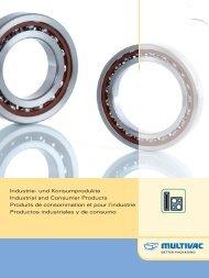Anwendungsbroschüre Industrie- und Konsumgüter (3 MB) - Multivac