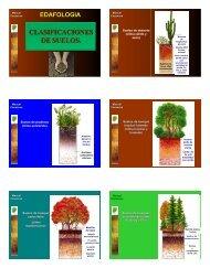 clasificaciones de suelos. edafologia