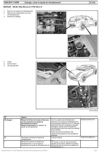 Catalogue des l ments du circuit de refroidissement des moteurs - Vidanger circuit chauffage ...