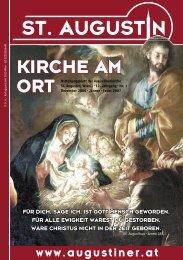 KIRCHE AM ORT Mitteilungsblatt der Augustinerkirche