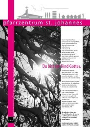 pfarrzentrum st. johannes - Pfarre Leonding-Hart