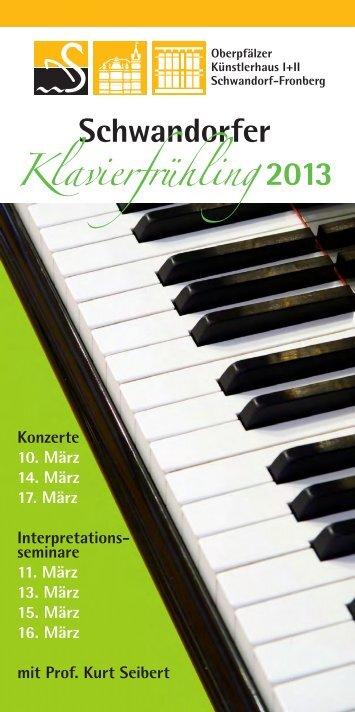 Wege zu Beethoven - Stadt Schwandorf