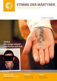 Ausgabe August 2012 - HMK - Hilfe für verfolgte Christen
