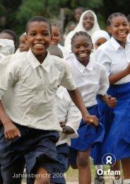 Jahresbericht 2008 - Oxfam