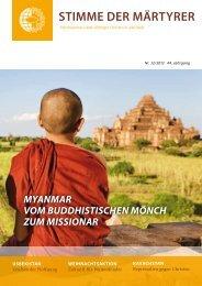 Ausgabe Dezember 2012 - HMK - Hilfe für verfolgte Christen