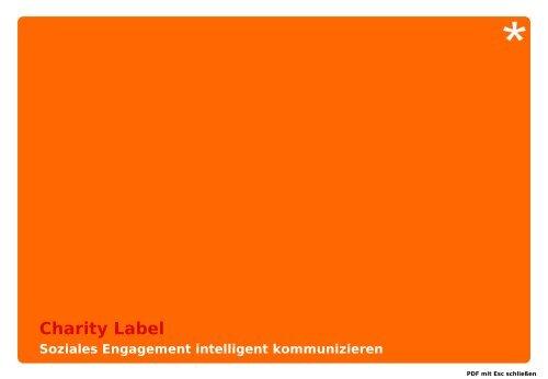 Vorstellung der Charity Label GmbH