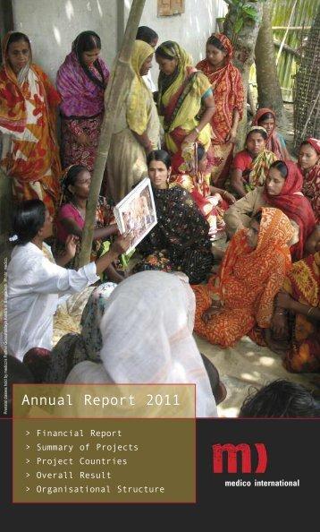 Download Annual Report 2011 - Medico International