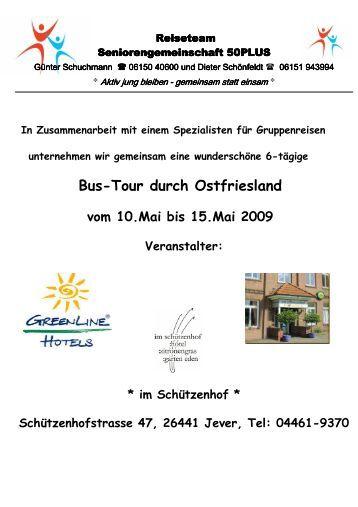 Erlebnisreise Ostfriesland - SG Weiterstadt