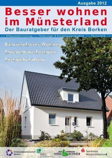 Bauratgeber Kreis Borken - Sparkasse Westmünsterland