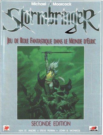 Rêgles, deuxième édition - Stormbringer