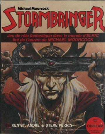 Rêgles, première édition - Stormbringer