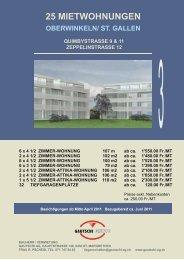 MEHRFAMILIENHÄUSER QUIMBYSTRASSE 5 & 7 - Gautschi AG