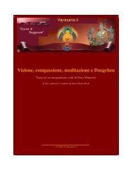 Visione, compassione, meditazione e Dzogchen