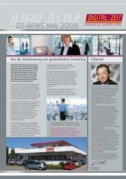 DZ-NEWS MAI 2009 - Digital-Zeit GmbH