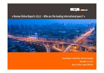 Annual Report Awards_EQS Group (121115)