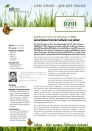 Deutsches Zentrum für orale Implantologie e.V. (DZOI ... - julitec GmbH