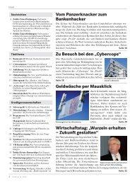 Profil: Inhalt 12/10 - Genossenschaftsverband Bayern