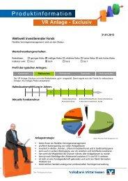 Zum aktuellen Factsheet - Volksbank Mittelhessen
