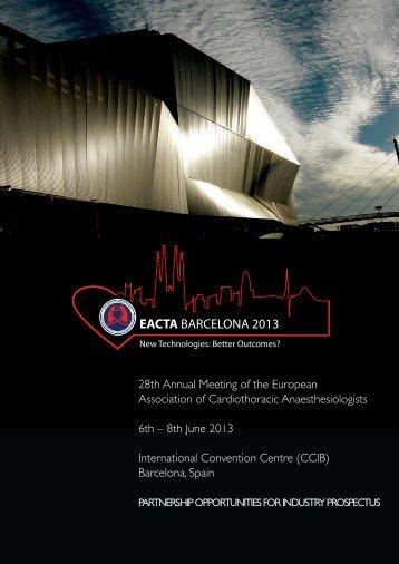 EACTA 2013 Partnership Opportunities for Industry Prospectus (PDF