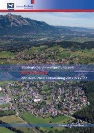 SUP - Untersuchungsrahmen - Gemeinde Eschen