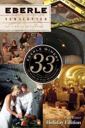 NEW -2012 Fall / Winter Edition - Eberle Winery