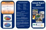 Annual Report 2012 - University of Illinois Extension