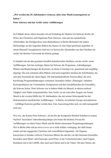 Beitrag aus: Die Tonkunst, 2. Jg., 2008, Heft