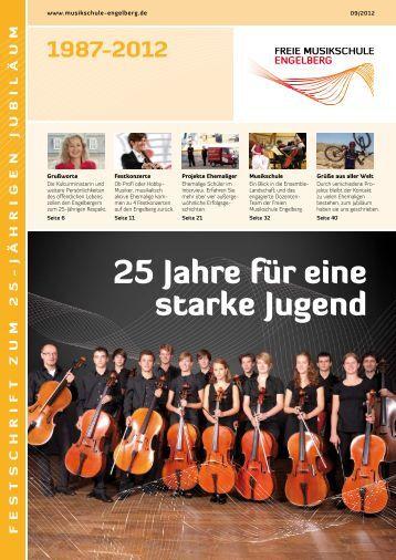 Festschrift zum 25-jährigen Jubiläum - CelloWelt