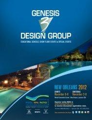 Genesis 3 e-brochure PDF - Int'l Pool | Spa | Patio Expo