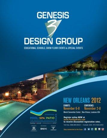 Genesis 3 e-brochure PDF - Int'l Pool   Spa   Patio Expo
