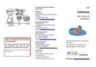 MSD Autismus - Mobile Sonderpädagogische Dienste
