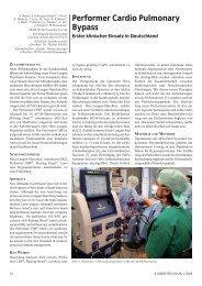 Performer Cardio Pulmonary Bypass