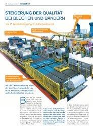 AluReport 2011/3 - Steigerung der Qualität bei Blechen