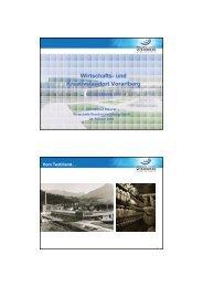Wirtschafts- und Kreativstandort Vorarlberg - Tiscover