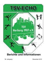 36. Jahrgang Dezember 2012 - TSV Harburg 1907 eV
