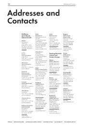 Addresses and contacts (pdf, 75kB) - Raiffeisen Zentralbank ...