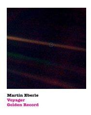 Martin Eberle Voyager Golden Record - A42.org