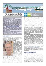 Kirchenkreis-Info - Kirchenkreis Wuppertal