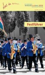Festführer - Harmoniemusik Triesenberg