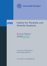 Institut für Parallele und Verteilte Systeme - Universität Stuttgart