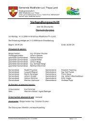 Gemeinderatssitzungsprotokoll (223 KB) - .PDF - Waidhofen an der ...