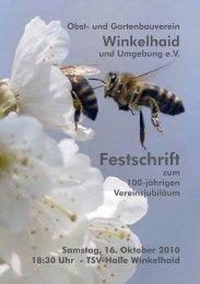 Festschrift - Gemeinde Winkelhaid