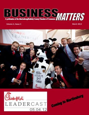 Volume 2, Issue 3 March 2012 - Chamber of Commerce of ...