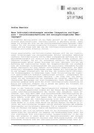 Undine Eberlein Neue Individualitätskonzepte zwischen Integration ...